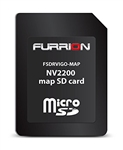 Furrion FSDRVIGO-MAP USA & Canada Road Map SD Card