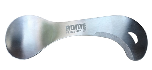 Rome Industries 1982 Stainless Steel Pie Iron Prep Tool
