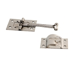 RV Designer E224 Stainless Steel RV Door Catch - 4""