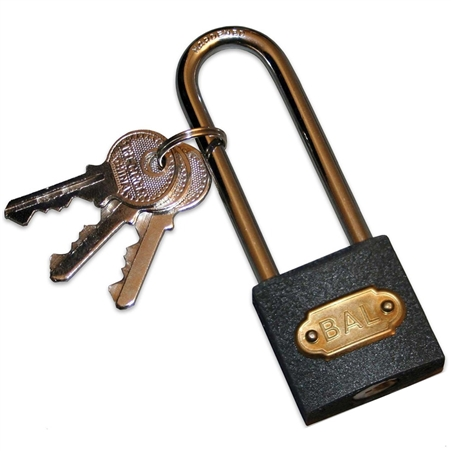 BAL R.V. Products 28015 X-Chock Padlock