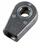 JR Products EF-PS122 Eyelet Metal End Fitting - .33 Hole Diameter