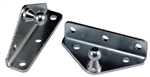 JR Products BR-12553 Gas Spring L-Shaped Angled Mounting Brackets
