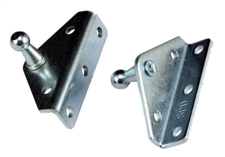 JR Products BR-12552 Gas Spring Angled Out Mounting Brackets