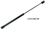 "JR Products GSNI-2600-100 Gas Spring 26.3"" Length 100 Lb Force"