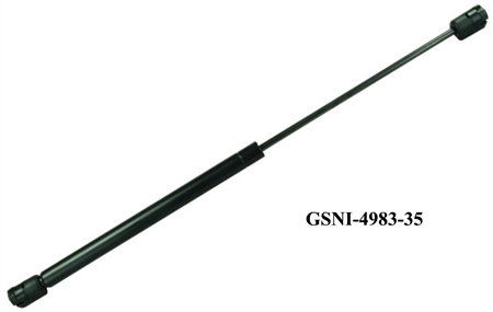 "JR Products GSNI-4983-35 Gas Spring 12.2"" Length 35 Lb Force"