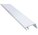 JR Products 11471 White Hehr Style Rigid Screw Cover