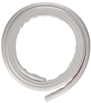 Essential UW05004 Eze RV Gutter Drip Rail - 50 Ft - Polar White