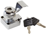 RV Designer L610 Slam Cam Chrome Locking Cylinder - 1""