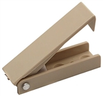 RV Designer E208 Beige Square Door Catch - 2 Pack