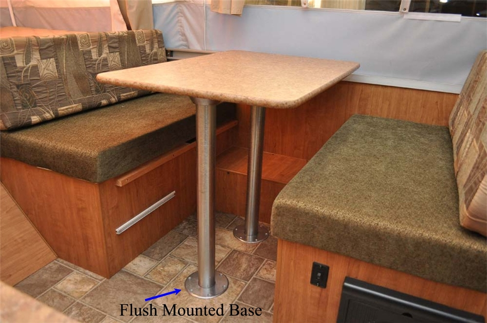 """ap products 013-956 31.5"""" rv dinette table leg post Dinette Table"""