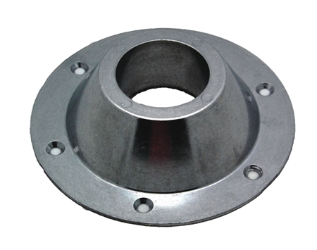 AP Products Round Surface Mount Table Leg Base