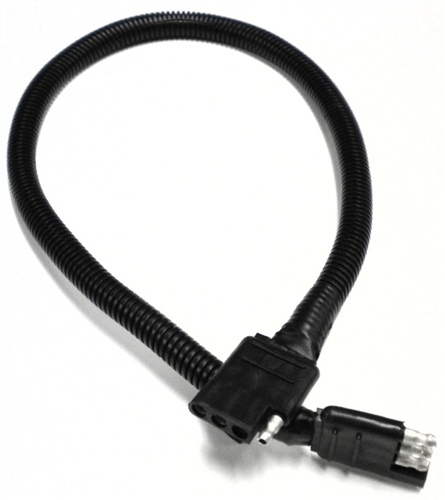 RV Pigtails 4-Way Heavy Duty Loop Connector 24""