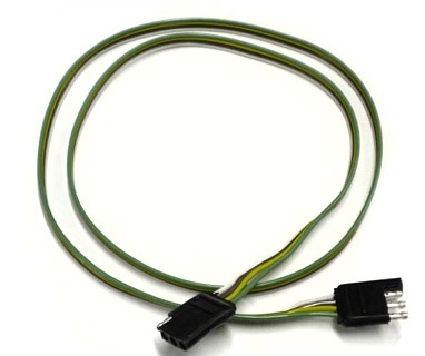 RV Pigtails 4-Way Heavy Duty Loop Connector 60""