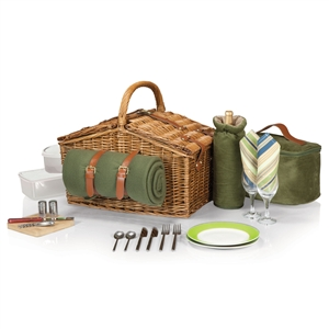 Picnic Time 213-87-130-000-0 Somerset English-Style Basket