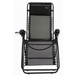 Travel Chair 2189B Lounge Lizard Quick Dry Mesh Fabric -Black