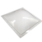 "Specialty Recreation N1818 Square Inner RV Skylight 18"" x 18"" - White"