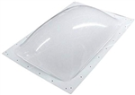 "Specialty Recreation SL2230W Rectangle RV Skylight 22"" x 30"" - White"