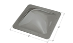 "ICON 12116 RV Square Skylight 18"" x 18"" - Smoke"