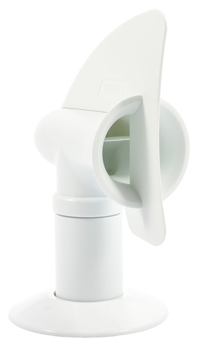 Camco 40595 Cyclone RV Sewer Vent Cap - White