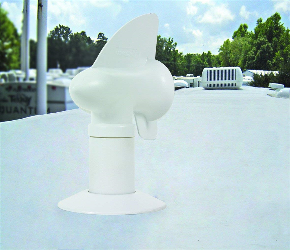 Camco 40595 Cyclone Rv Sewer Vent Cap White