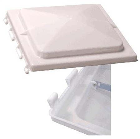 Heng's J291RWH-C Replacement Vent Lid for Jensen Plastic Base Vent - White