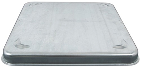 Ventline Standard Metal Replacement Vent Cover - Silver