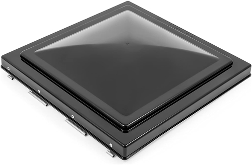 Camco 40175 Replacement Vent Lid for Pre 1994 Jensen W/ Pin Hinge - Black Polycarbonate