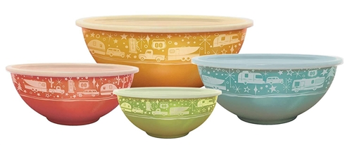 Camp Casual CC-006 Nesting Kitchen Storage Bowls - 4 Pack