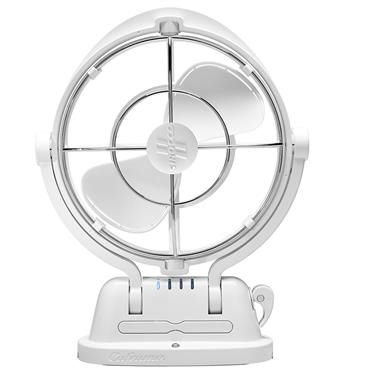 Caframo 7010CAWBX Sirocco 7-Inch 3-Speed 360-Degrees Fan - White