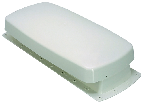 Barker 12603 Colonial White Refrigerator Vent Base And Cap