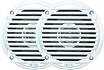Jensen MS5006WR Dual Cone Waterproof Speakers - White