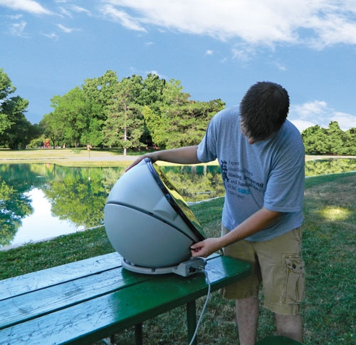 Winegard gm 5000 carryout anser portable satellite antenna publicscrutiny Images