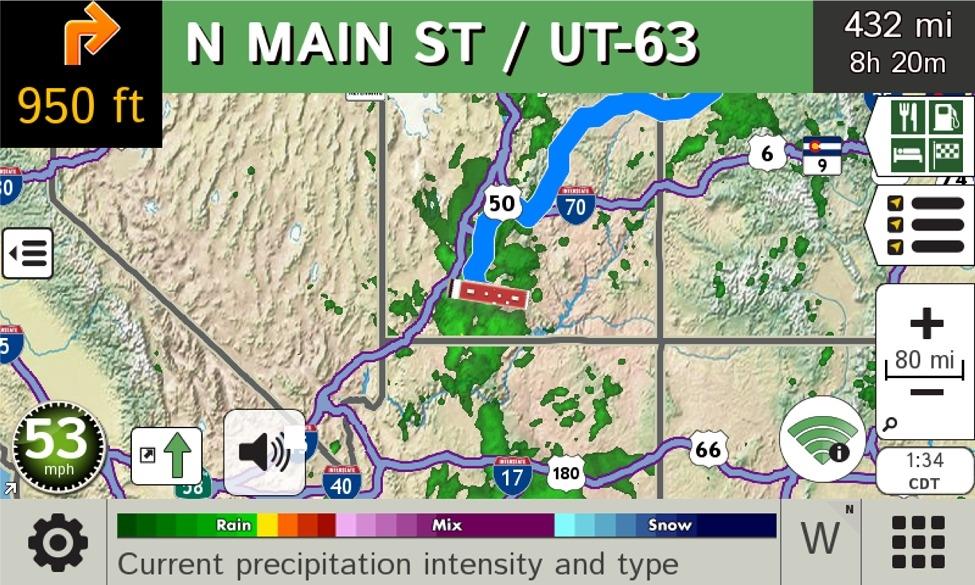 Rand McNally 0528012274 TripMaker RV GPS With Lifetime Maps