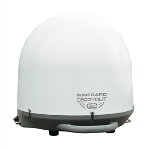 Winegard GM-2000 White Carryout G2 Portable RV Satellite TV Antenna