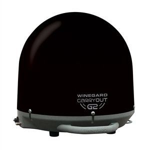 Winegard GM-2035 Black Carryout G2 Portable RV Satellite Antenna