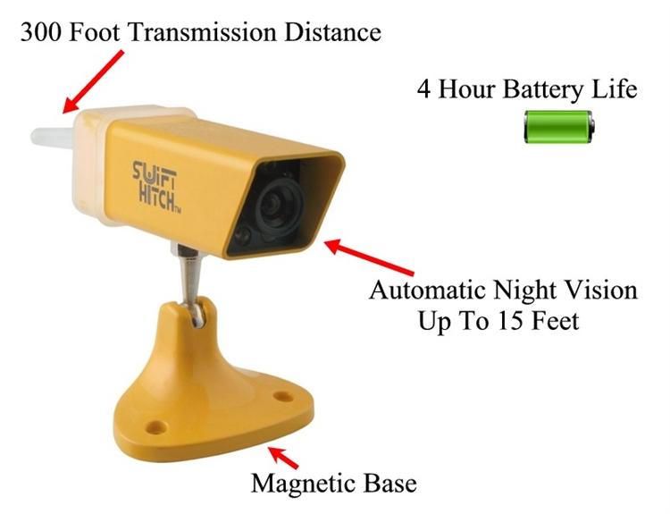 Swift Hitch Sh01 Wireless Back Up Camera