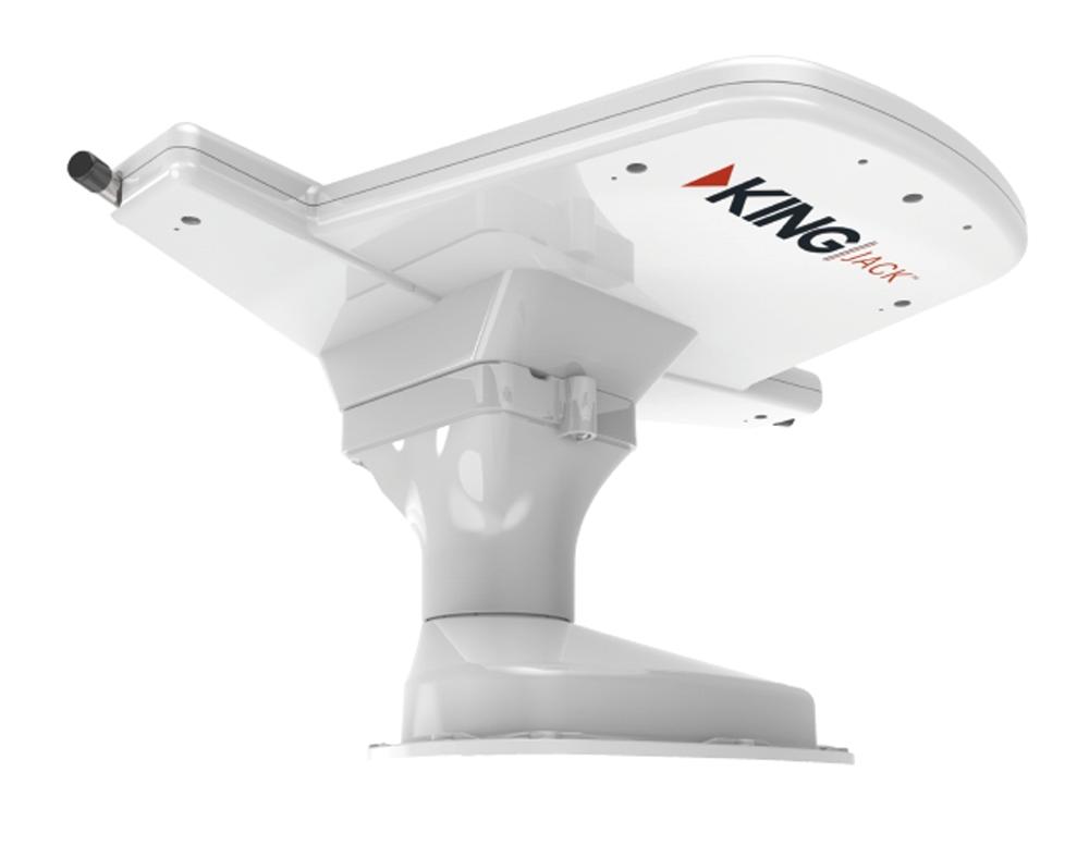 king control jack digital hdtv antenna - white