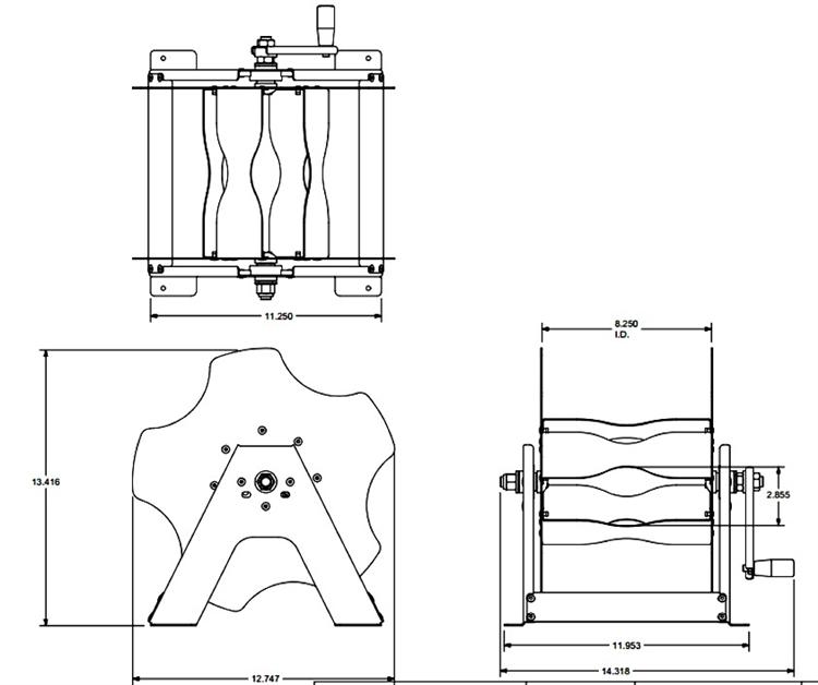 MORryde REEL56-009H Economy Easy Reel Spooler