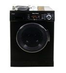 Pinnacle 18-4400B Super Combo RV Washer/Dryer - Black