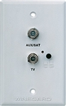 Winegard RV-7542 RV TV/Satellite Wall Plate Power Supply