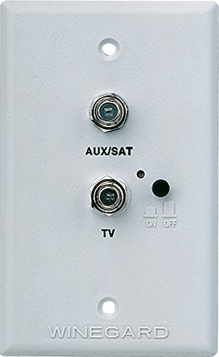 Winegard Rv 7542 Rv Tv Satellite Wall Plate Power Supply