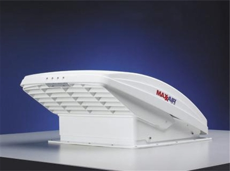 Maxxair White Maxxfan Deluxe 4 Speed Ventilator