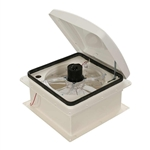 Heng's Zephyr Hi-Performance Powered RV Roof Vent - White