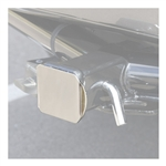 Curt 22110 Receiver Tube Cover - Chrome - 2""