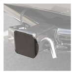 Curt 22750 Steel Hitch Tube Cover - Black - 2""