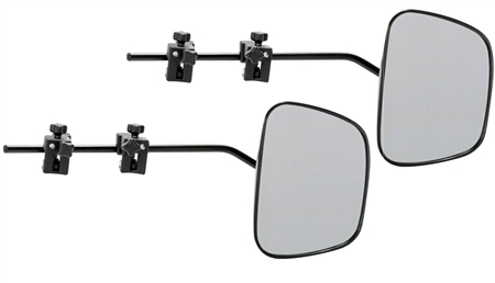 Dometic DM-2912 Milenco Grand Aero3 Clamp-On Towing Mirrors - 2 Pack