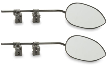 Dometic DM-2899 Milenco Aero3 Clamp-On Towing Mirror - 2 Pack