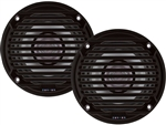 Jensen MS5006BR Dual Cone Outdoor Speaker - Black