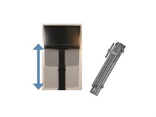 Mor ryde tv20 001h vertical motorized tv mount for Motorized tv mount over fireplace