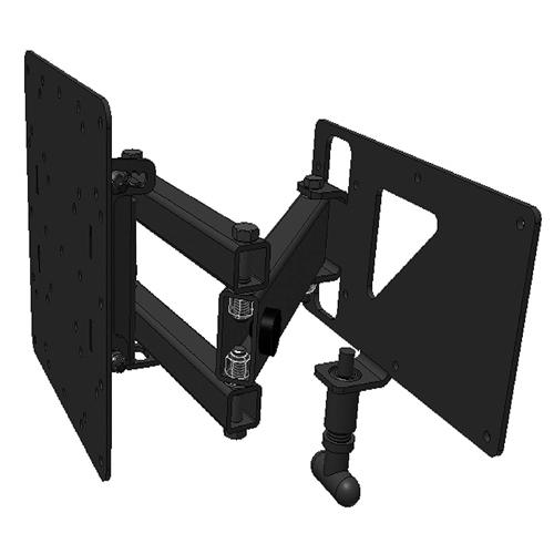 mor ryde tv1 006h extending swivel tv wall mount. Black Bedroom Furniture Sets. Home Design Ideas